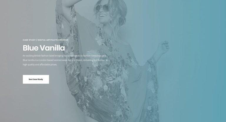 Blue Vanilla / bluevanilla.com